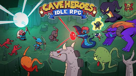 Cave Heroes Idle RPG apk