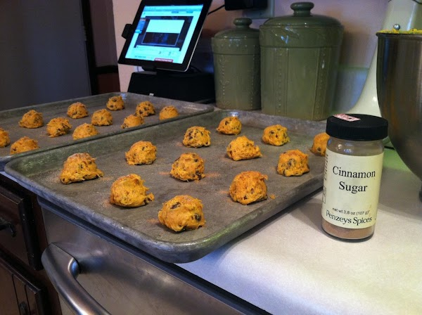 ***optional and delicious step is to add a sprinkle of cinnamon/sugar mix to the...