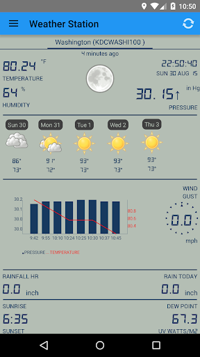 Weather Station screenshot 1