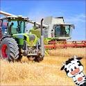 Tractor Sunshine Land Field icon