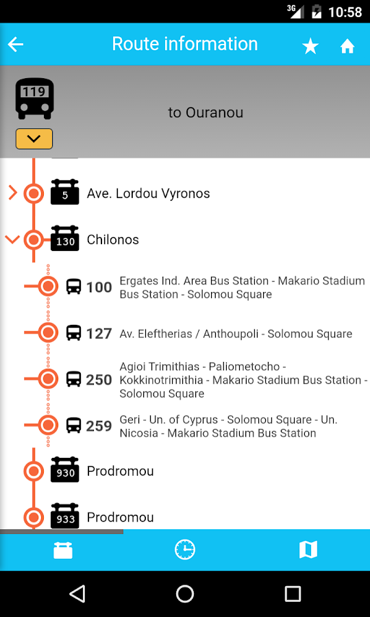 OSEL Buses- screenshot