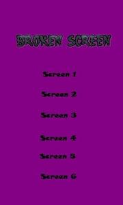 Super Broken Screen - Joke screenshot 0
