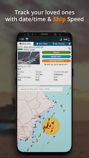 Marine finder: Vessel navigation & ship tracker screenshot 3