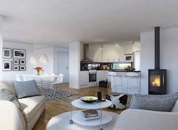 Appartement 4 pièces 91,51 m2