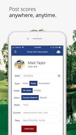 Texas Golf Association hack tool