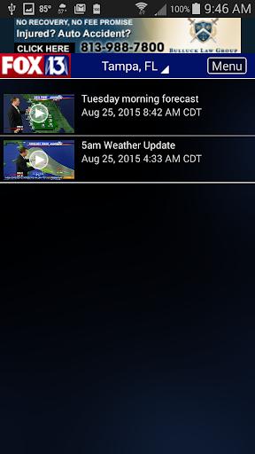 玩免費天氣APP|下載FOX 13 SkyTower Radar app不用錢|硬是要APP