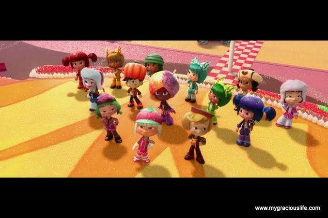 Sugarrush-characters
