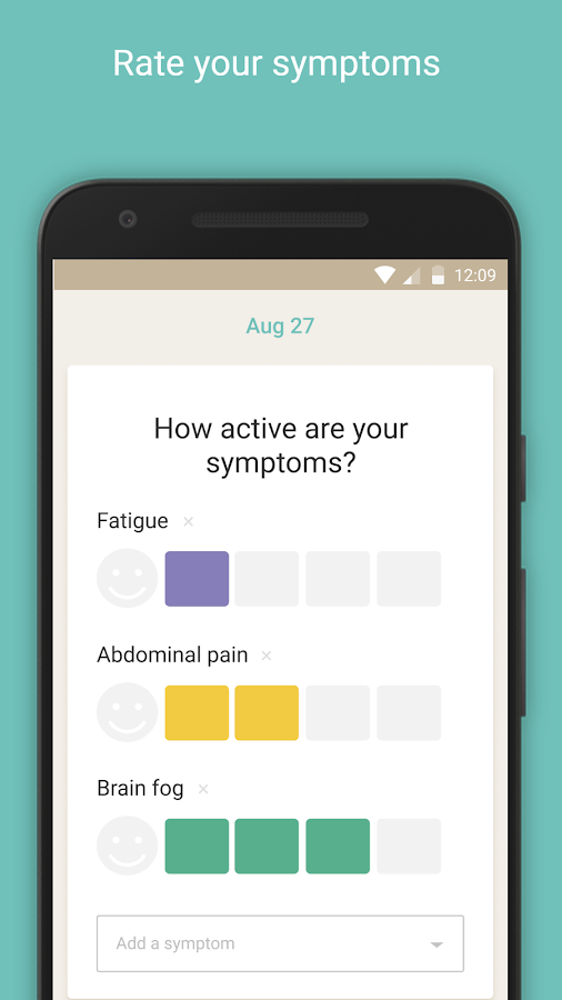 Flaredown for Chronic Illness- screenshot