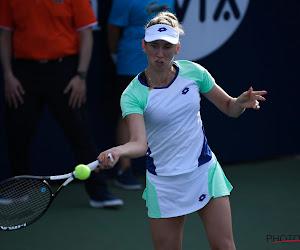 Elise Mertens kent haar tegenstander en zal serieus aan de bak moeten in de kwartfinale van de Gippsland Trophy