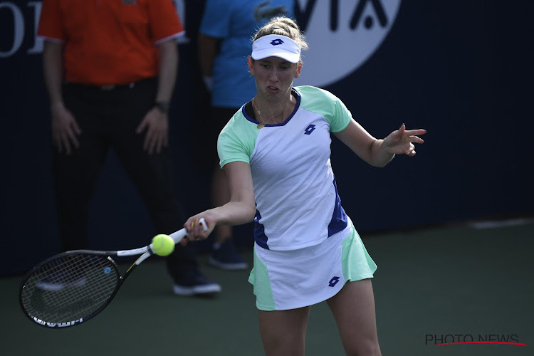 Na Clijsters nu ook Elise Mertens uitgeschakeld in Dubai: dubbelpartner te sterk in enkelspel