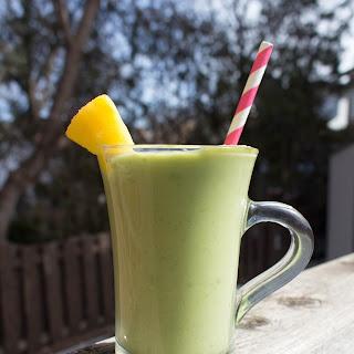 Healthy-ish Avocado Maple Pineapple Milkshake.