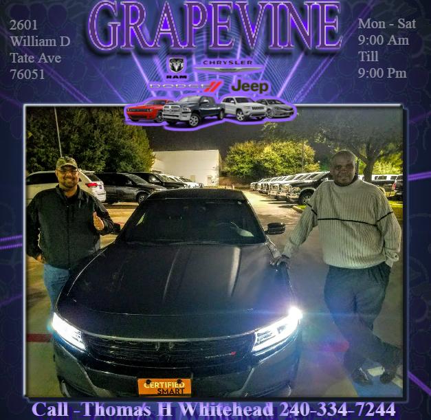 Call Thomas H Whitehead - Grapevine Dodge
