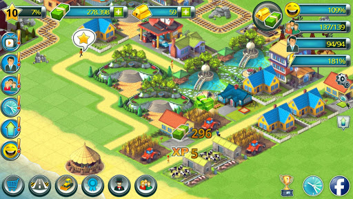 Town Building Games: Tropic Town Island City Sim  screenshots 11