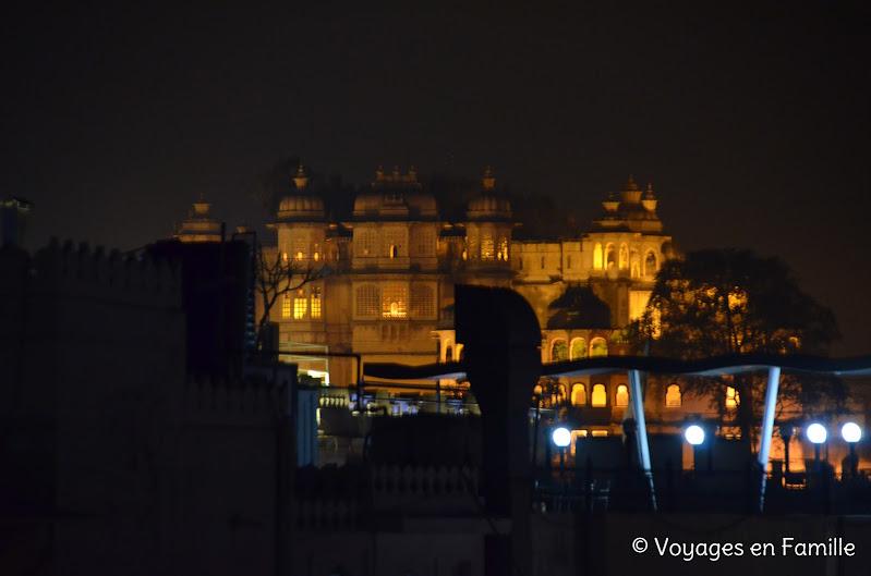 Vue sur City Palace