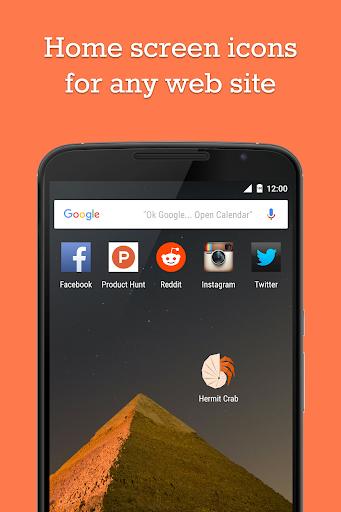 Hermit Crab – Lite App Browser
