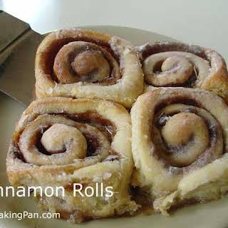 Cinnamon Rolls.