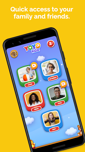 YoYo Kidz - Easy and Safe Video Messaging for Kids screenshot 1