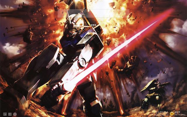 Hd Gundam Themes: Mobile Suit Gundam Themes HD NewTab