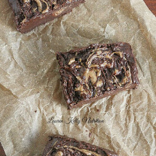 No Bake Almond Butter Fudge Bars
