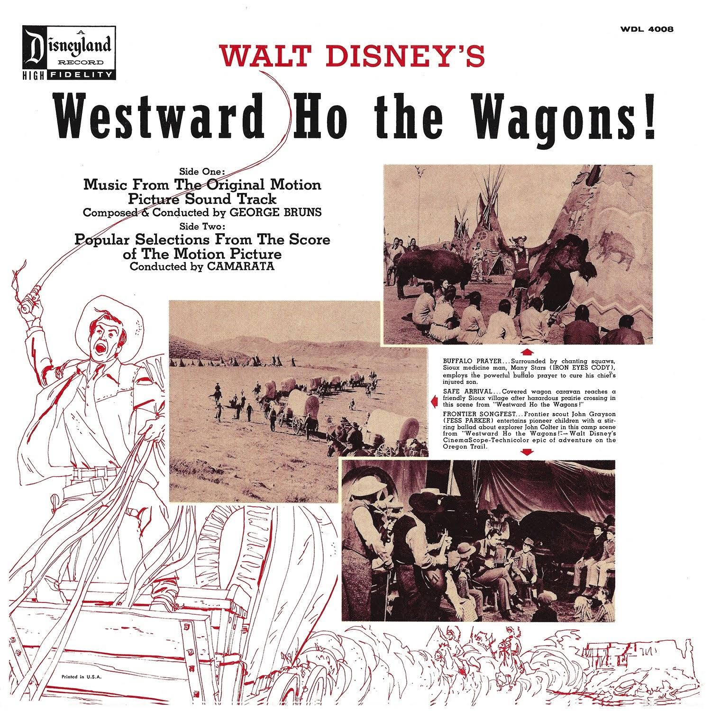 Fess Parker, George Bruns, Tutti Camarata, Walt Disney