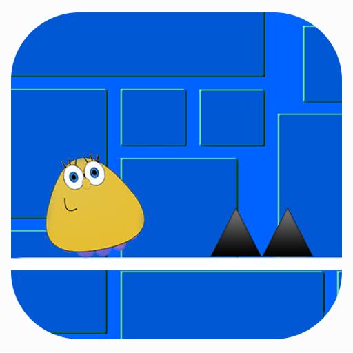 Geometry Pou Dash 街機 App LOGO-APP開箱王