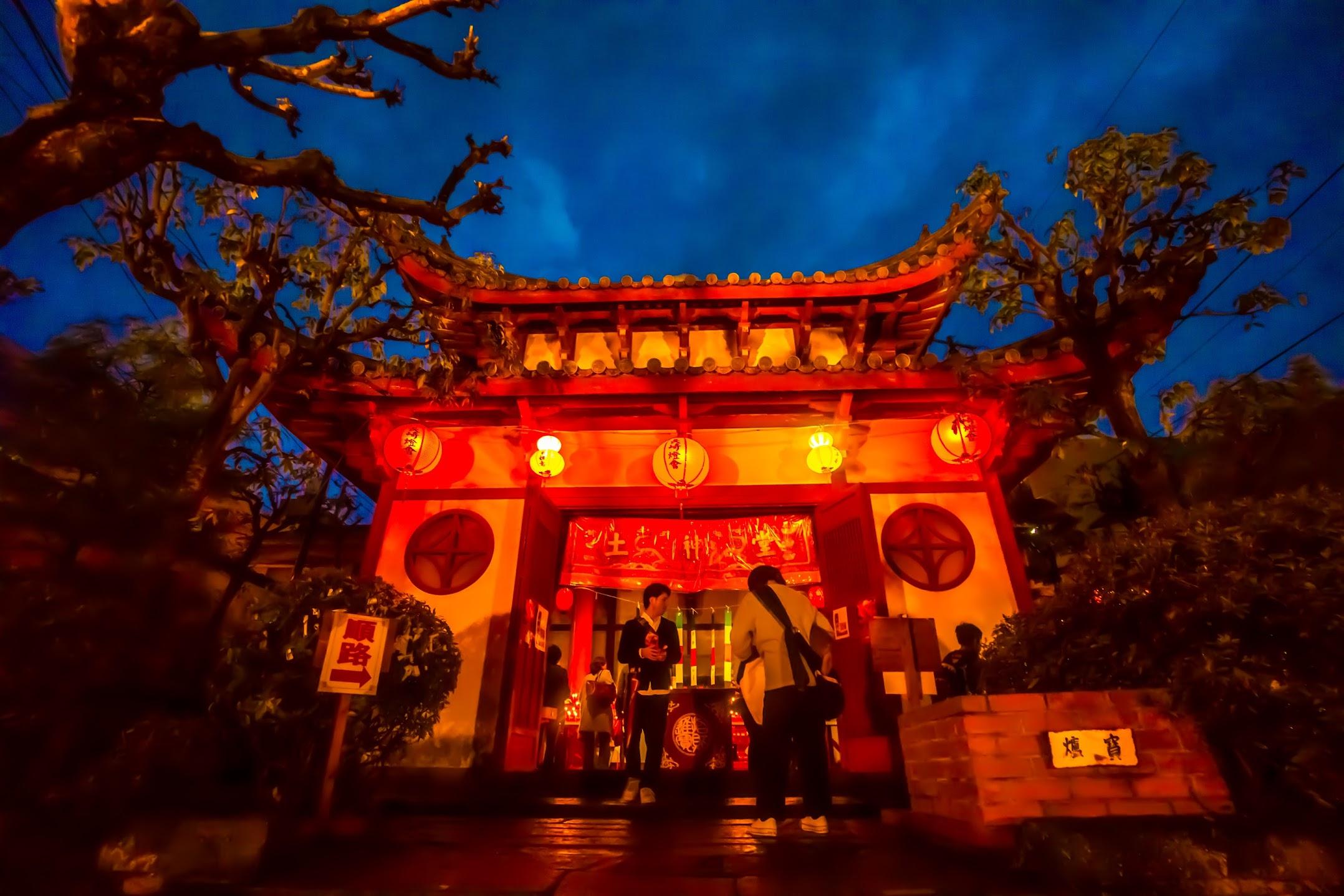 長崎ランタンフェスティバル 唐人屋敷跡 土神堂2
