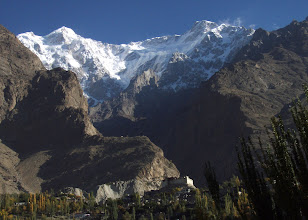 Photo: Baltit fort with Ultar peaks