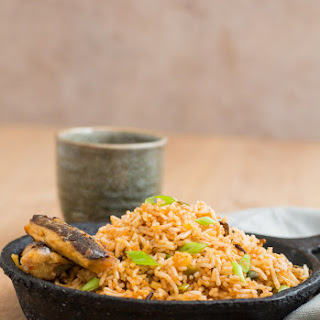 Quick Cinnamon Butter Fried Rice With Grilled Sardines - African Flavours.