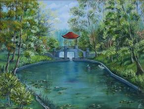 Photo: Элеонора Обухова, Китайский мостик, 60х80см, холст, масло