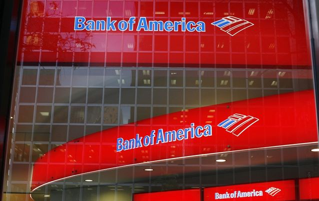 Bank of America. Picture: REUTERS