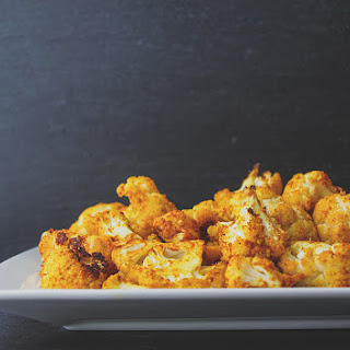 CURRY & SRIRACHA ROASTED CAULIFLOWER Recipe