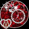 rose diamond love shining tema icon