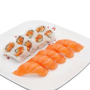 Spicy Salmon Platter Combo