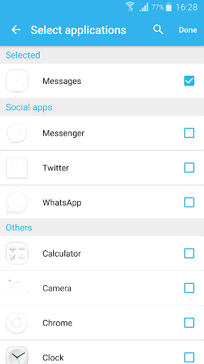 Flash blink on Call, all messages & notifications 8.9 screenshots 6