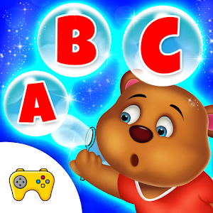 Learning ABC Bubbles Popup Fun For Toddlers