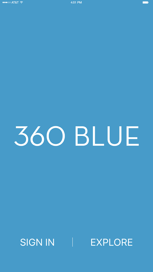 360 Blue- screenshot