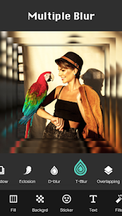 Square Pic Photo Editor - Collage Maker Photo Blur Screenshot