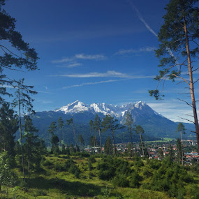 by Ashley Rolland - Landscapes Mountains & Hills ( mountains, zugspitz, nature, germany, austria, alps )