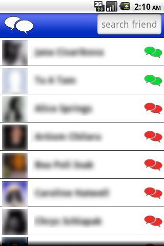 FastChat for Facebook 1.034 screenshots 2