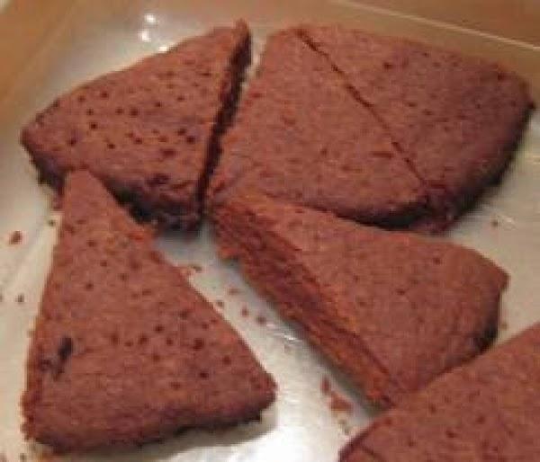 Deep Chocolate Shortbread With Splenda Recipe