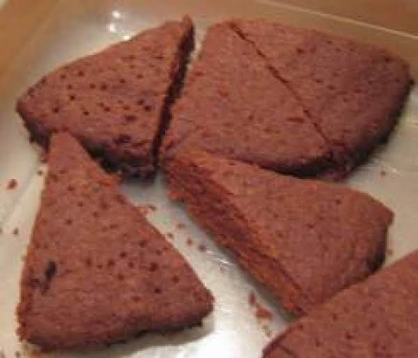 Deep Chocolate Shortbread With Splenda