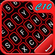 Red Neon Keyboard