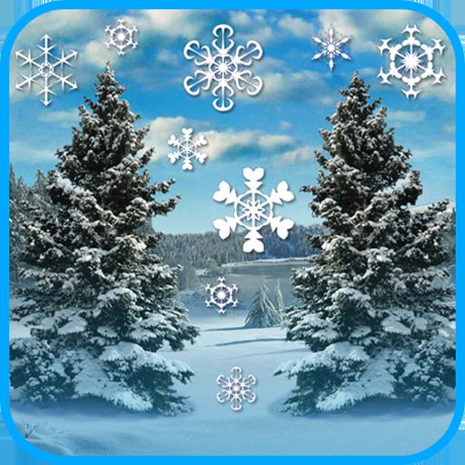 个人化の冬の降雪 LOGO-記事Game