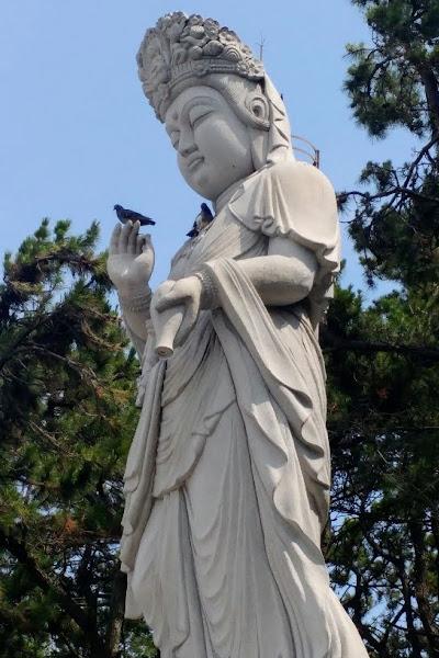 Statue seen during Study Abroad Program in Daegu S.Korea