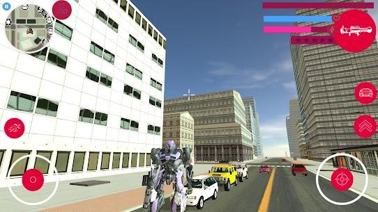 Robot Car Transforme Muscle Robot Car Simulator 1