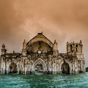 The Holy Rosary Church Series-8 by Vijayanand Kandasamy - Buildings & Architecture Decaying & Abandoned ( shetti halli church, decaying church, holy rosary church, the holy rosary church, sinking church, abandoned church,  )