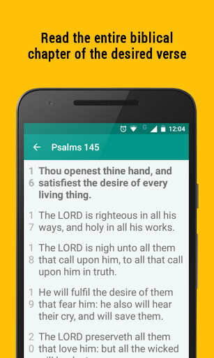 Bible Promise Box - Verse of the day to share - screenshot