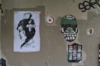 Photo: Street art -Inti Ansa -K Bal - Moyoshi -Paris XIIIe -La butte aux cailles