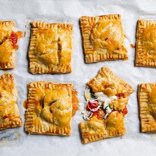 Cherry Tomato and Burrata Hand Pies