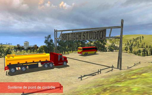 pétrole cargo camion au volant APK MOD (Astuce) screenshots 3